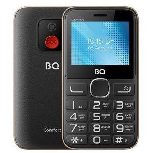 Мобильный телефон BQ-Mobile BQ-2301 Comfort (черный/золотистый)