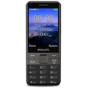 Мобильный телефон Philips Xenium E590 (черный)