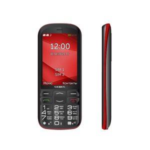 Мобильный телефон TeXet TM-B409 (черный/красный)