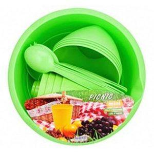 Набор для пикника BEROSSI Picnic mini ИК 22638000 (зеленый)