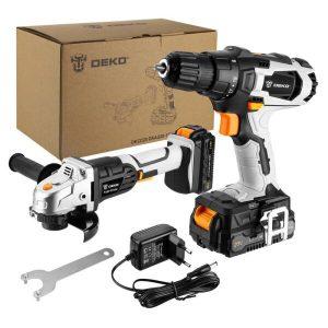 Набор инструментов DEKO DKCD20 SET 2 063-4204