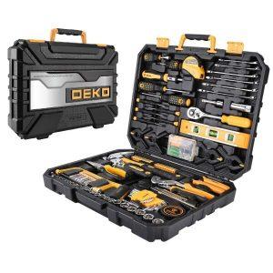 Набор инструментов для дома DEKO DKMT168 (168 предметов)