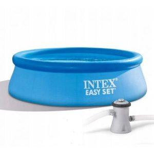 Надувной бассейн Intex Easy Set 28108NP (244x61 с фильтром и насосом)