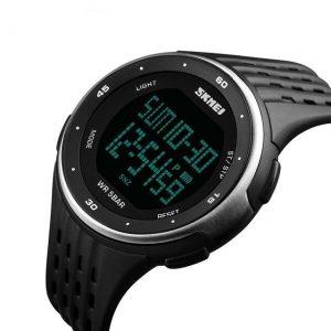 Наручные часы Skmei 1219 (черный/серебристый)