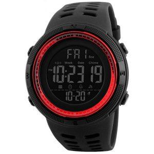 Наручные часы Skmei 1243 (черный/красный)