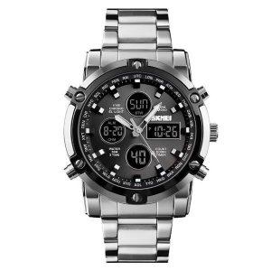 Наручные часы Skmei 1389 (серебристый/черный)