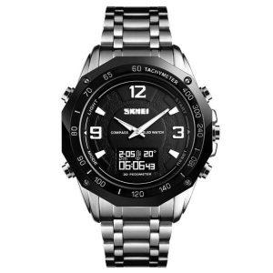 Наручные часы Skmei 1464 (серебристый/черный)