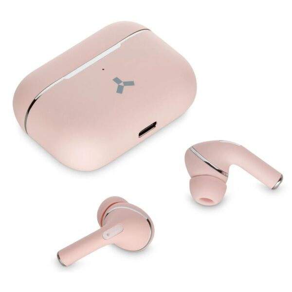 Наушники AccesStyle Indigo TWS (розовый)