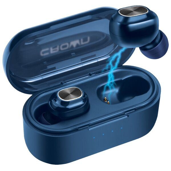 Наушники CrownMicro CMTWS-5007 (синий)