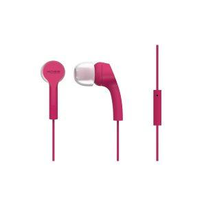 Наушники с микрофоном KOSS KEB9i розовый