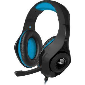 Наушники с микрофоном SVEN AP-G887MV черный-синий