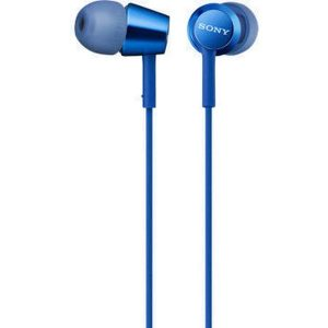 Наушники Sony MDR-EX155 (Синие)