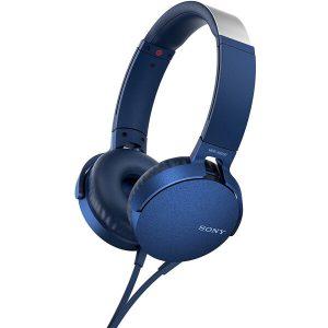 Наушники Sony MDR-XB550APL (синий)