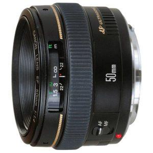 Объектив Canon EF 50 mm F1.4 USM