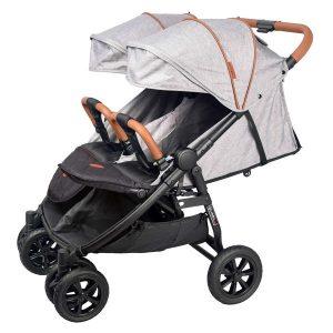 Прогулочная коляска COLETTO Enzo Twin (серый)