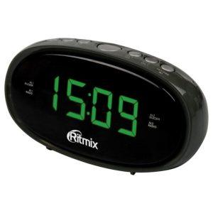 Радиочасы RITMIX RRC-616 черные
