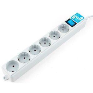 Сетевой фильтр Power Cube SPL(5+1)-16B-P-5M Pro