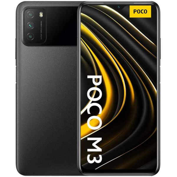 Смартфон Xiaomi POCO M3 4GB/128GB Power Black EU