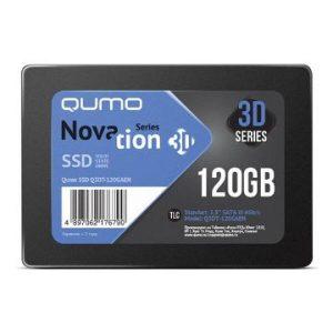 SSD-накопитель QUMO Novation 3D TLC 120GB Q3DT-120GAEN