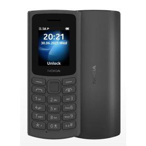 Телефон Nokia 105 4G Dual SIM черный (TA-1378)