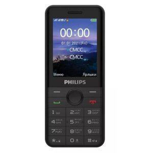 Телефон PHILIPS Xenium E172 (черный)