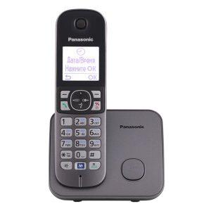 Телефон стандарта dect PANASONIC KX-TG6811RUM
