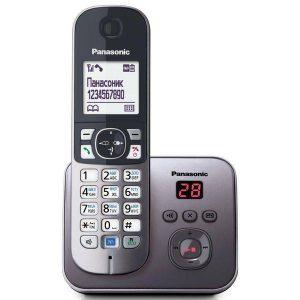 Телефон стандарта dect PANASONIC KX-TG6821RUM