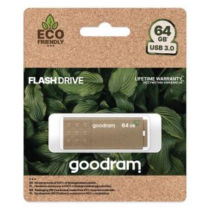 USB Flash GOODRAM Eco Friendly 64GB (UME3-0640EFR11) коричневый