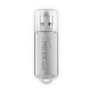 USB Flash MIREX Unit Silver 64GB (13600-FMUUSI64)