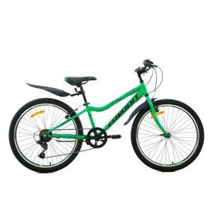 Велосипед Favorit Fox 24 V (зеленый)