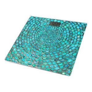 Весы напольные LUMME LU-1329 голубая бирюза