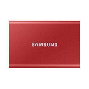Внешний накопитель Samsung T7 500GB (красный)