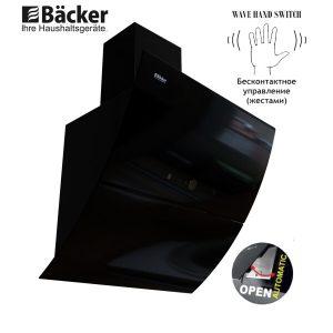 Вытяжка BACKER AH60E-THSL200C BLACK GLASS